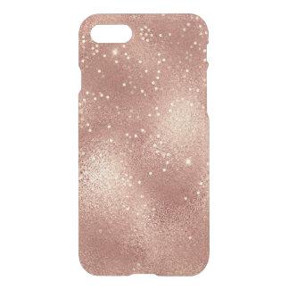 Capa iPhone 8/7 Vidro magro do minimalismo do brilho do ouro do