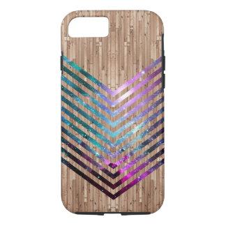 Capa iPhone 8/ 7 Viga de madeira da nebulosa