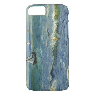 Capa iPhone 8/ 7 Vincent van Gogh - Seascape perto de Les Saintes