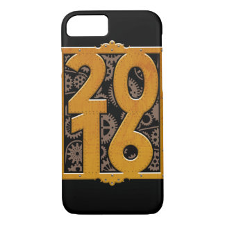 Capa iPhone 8/ 7 Vintage Steampunk 2016