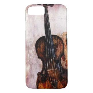 Capa iPhone 8/ 7 violino do violino do instrumento musical do