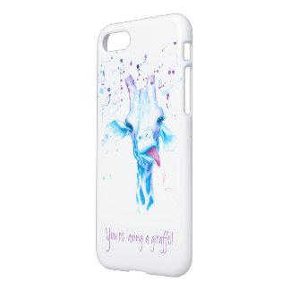 Capa iPhone 8/7 Você 'aving um exemplo de Iphone 7 do girafa