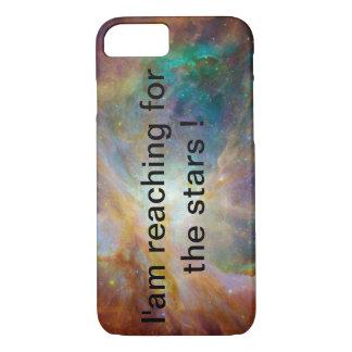 Capa iPhone 8/ 7 você está alcançando para as estrelas?