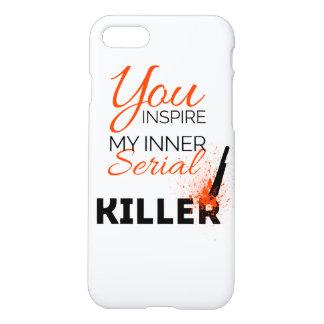 Capa iPhone 8/7 Você inspira meu assassino em série interno
