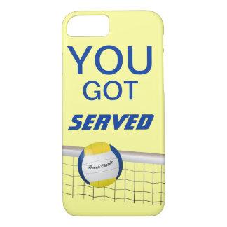 Capa iPhone 8/ 7 Você obteve o caso servido do iPhone 7 do voleibol