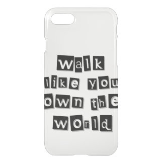 Capa iPhone 8/7 Você possui o mundo