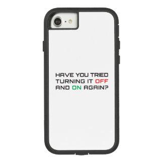 Capa iPhone 8/ 7 Você tentou desligá-lo e sobre outra vez?