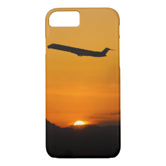 Capa iPhone 8/ 7 Voo fora no por do sol