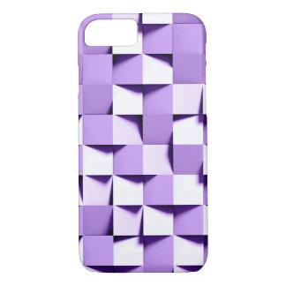 Capa iPhone 8/ 7 weave de papel roxo