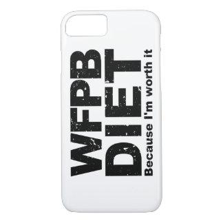 Capa iPhone 8/ 7 WFPB que eu valer a pena (o preto)