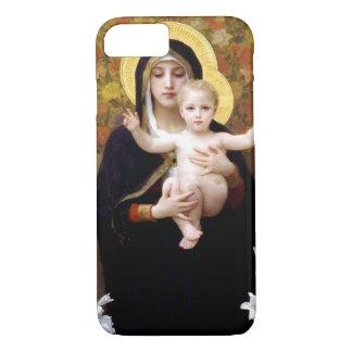 Capa iPhone 8/ 7 William Bouguereau- Madonna dos lírios