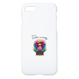 Capa iPhone 8/7 Winter- Phone