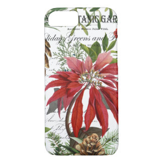 Capa iPhone 8/ 7 Wintergarden moderno do vintage floral