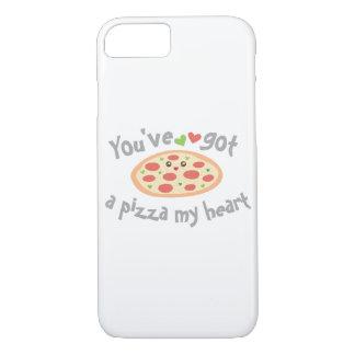 Capa iPhone 8/ 7 You've obteve a uma pizza meu coração humor