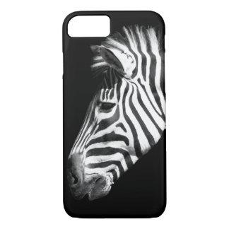 Capa iPhone 8/ 7 Zebra preto e branco