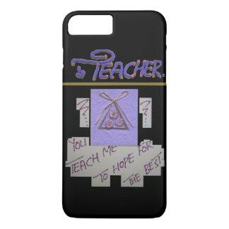 Capa iPhone 8 Plus/7 Plus A esperança do professor para os estudantes