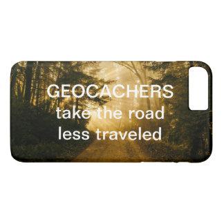 Capa iPhone 8 Plus/7 Plus A estrada engraçada das citações do viagem de