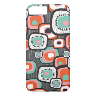 Capa iPhone 8 Plus/7 Plus A flor retro da caixa do sushi esquadra o caso