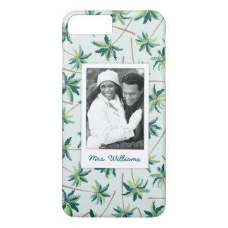 Capa iPhone 8 Plus/7 Plus A palma tropical | do Foxtail adiciona sua foto &