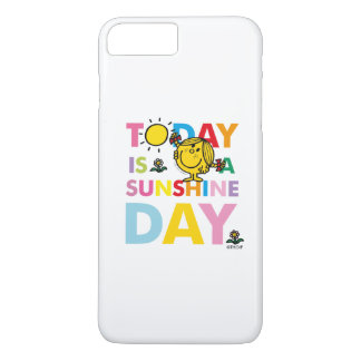 Capa iPhone 8 Plus/7 Plus A senhorita pequena Luz do sol | é hoje um dia da