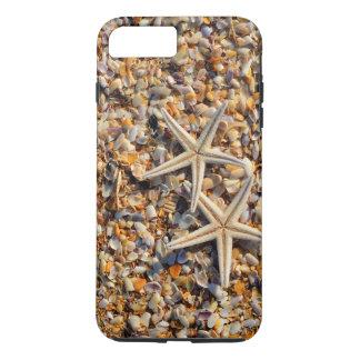 Capa iPhone 8 Plus/7 Plus A vida é uma praia deixou-nos jogar Seashells e