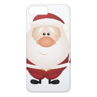 Capa iPhone 8 Plus/7 Plus Abraços de Papai Noel