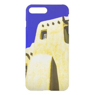 Capa iPhone 8 Plus/7 Plus Adobe no azul e no amarelo