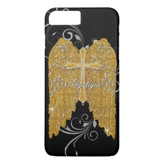 Capa iPhone 8 Plus/7 Plus AJR-GS-3-angels-wings-BLK.jpg