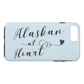 Capa iPhone 8 Plus/7 Plus Alaskan no caso do telemóvel do coração
