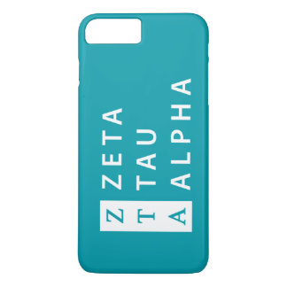 Capa iPhone 8 Plus/7 Plus Alfa da tau do Zeta empilhado