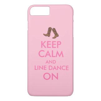Capa iPhone 8 Plus/7 Plus Alinhe o iphone da dança 7 botas de vaqueiro do