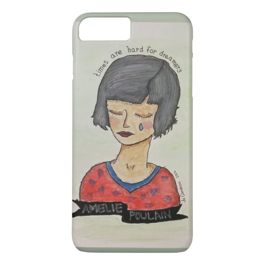 Capa iPhone 8 Plus/7 Plus Amélie Poulain Case for iPhone 8 Plus / 7 Plus