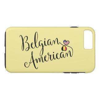 Capa iPhone 8 Plus/7 Plus Americano belga caso entrelaçado do telemóvel dos