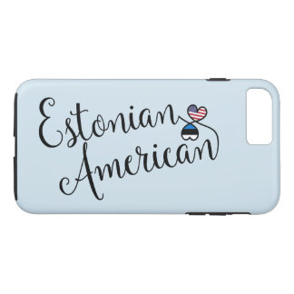 Capa iPhone 8 Plus/7 Plus Americano estónio caso entrelaçado do telemóvel