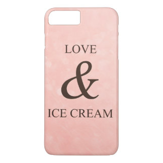Capa iPhone 8 Plus/7 Plus Amor & sorvete