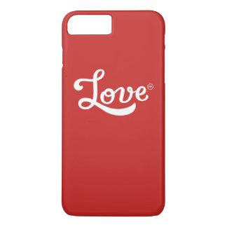 Capa iPhone 8 Plus/7 Plus Amor TM