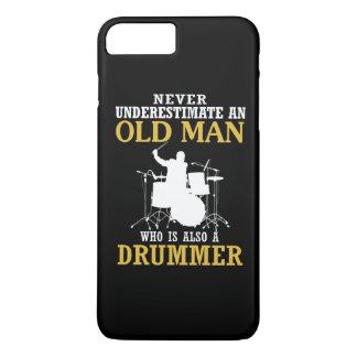 Capa iPhone 8 Plus/7 Plus Ancião - um baterista