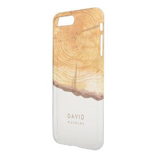 Capa iPhone 8 Plus/7 Plus Anéis da floresta personalizados