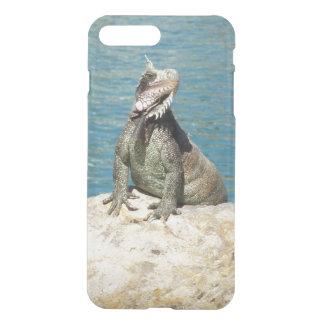 Capa iPhone 8 Plus/7 Plus Animais selvagens tropicais da iguana