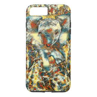 Capa iPhone 8 Plus/7 Plus AnimalArt_Elephant_20170905_by_JAMColors