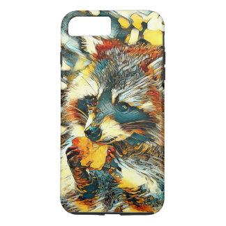 Capa iPhone 8 Plus/7 Plus AnimalArt_Raccoon_20170601_by_JAMColors