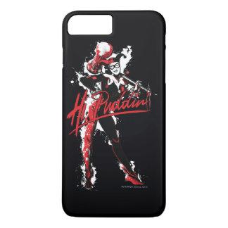 "Capa iPhone 8 Plus/7 Plus Arte da tinta do Puddin'"" de Batman | Harley Quinn"