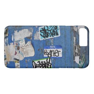 Capa iPhone 8 Plus/7 Plus Arte urbana New York dos grafites da fotografia da