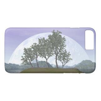 Capa iPhone 8 Plus/7 Plus Árvore com folhas lisa dos bonsais do olmo - 3D