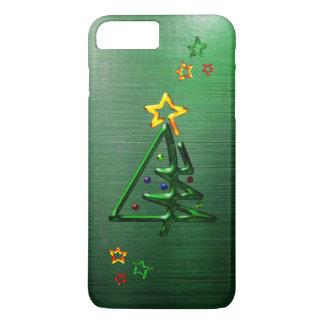 Capa iPhone 8 Plus/7 Plus Árvore de Natal tubular do cromo