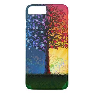 Capa iPhone 8 Plus/7 Plus Árvore do dia e da noite