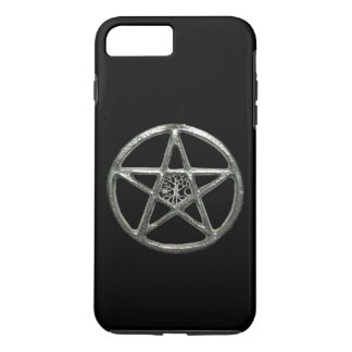 Capa iPhone 8 Plus/7 Plus Árvore do Pentacle do caso do iPhone 7 da vida