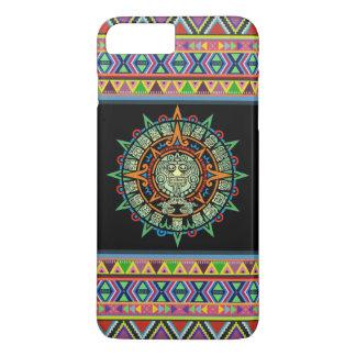 Capa iPhone 8 Plus/7 Plus (asteca colorido)