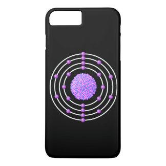 Capa iPhone 8 Plus/7 Plus Átomo Titanium