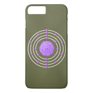 Capa iPhone 8 Plus/7 Plus Átomo Titanium com fundo